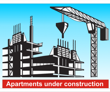 Apartments are under construction